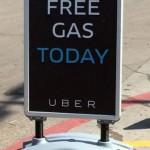 Free Gas Today Uber ridesharing