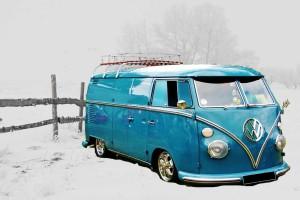 RV ready for winter